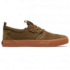 Supra Flow Shoes - Olive/Gum