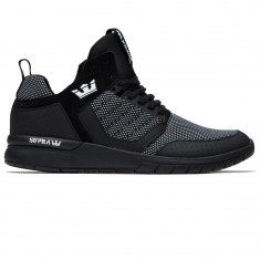 Supra Method Shoes - Black/White/Black