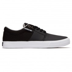 Supra Stacks Vulc II Shoes - Black/Cool Grey/White