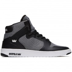 Supra Vader 2.0 Shoes - Black/Black/White