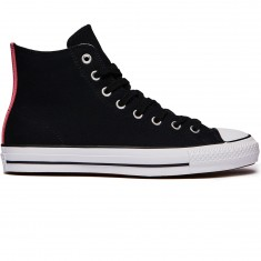 Converse CTAS Pro Hi Suede Backed Shoes - Black/Pink Glow/Natural