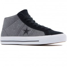 Converse One Star Pro Mid Shoes - Mason/Black