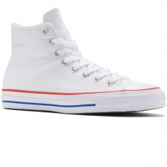 Converse CTAS Pro Hi Shoes - White/Red/Blue