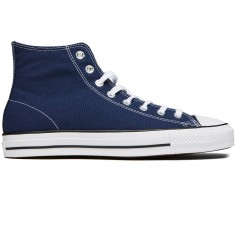 Converse CTAS Pro Hi Shoes - Midnight Navy/White Canvas