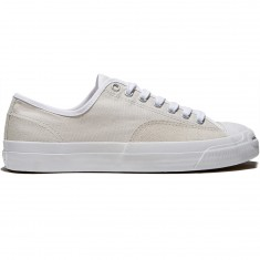 Converse Jack Purcell Pro Ox Shoes - Pale Putty/White/White Canvas