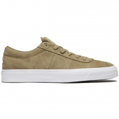 Converse One Star CC Low Shoes - Khaki/Khaki/White Suede