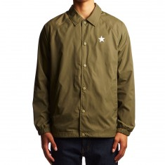 Converse Cons Collegiate Coaches Jacket - Medium Olive/Engine Smoke