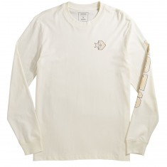 Converse Cons Wordmark Long Sleeve T-Shirt - Egret