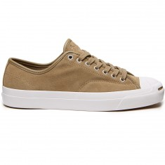 Converse Jack Purcell Pro Ox Shoes - Khaki/White