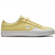 Converse X Chocolate One Star Pro Kenny Anderson Shoes - Yellow/White/Days Ahead