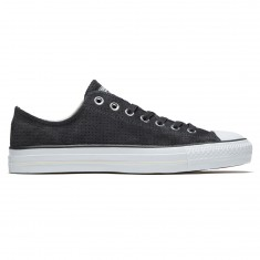Converse CTAS Pro OX Shoes - Almost Black/Egret/White