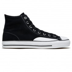 Converse CTAS Pro Hi Shoes - Black/Enamel Red/White