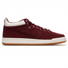 Converse Fastbreak Pro Mid Shoes - Deep Bordeaux/Egret/Gum