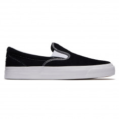 Converse One Star CC Slip Shoes - Black/White/White