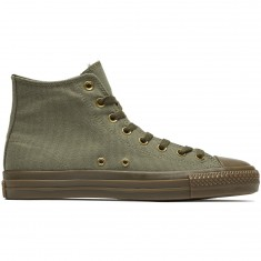 Converse CTAS Pro Hi Kevin Rodrigues Shoes - Medium Olive/Collard/Gum