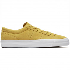 Converse One Star CC Pro OX Suede Shoes - Desert Marigold/Turmeric Gold/White