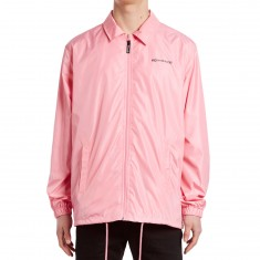 Mighty Healthy Nylon Coaches Jacket - Pink