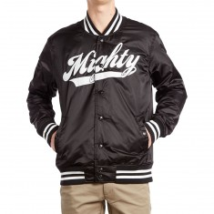 Mighty Healthy Rotten Core Varsity Jacket - Black