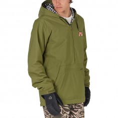 Analog Caldwell Anorak Snowboard Jacket - Olive Branch