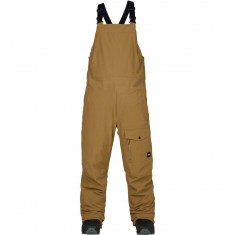 Analog Breakneck Bib Snowboard Pants - Dull Gold