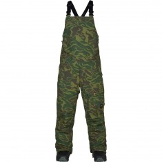 Analog Breakneck Bib Snowboard Pants - Rifle Noodle Camo