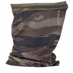 Burton Midweight Neck Warmer Gaiter - Olive Green/Worn Tiger