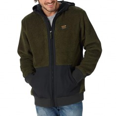 Burton Tribute Full Zip Fleece Snowboard Jacket - Forest Night
