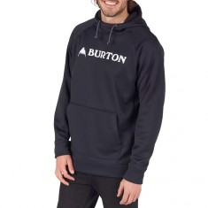 Burton Crown Bonded Hoodie - True Black