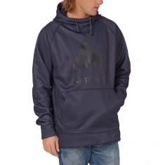 Burton Crown Bonded Hoodie - Mood Indigo Heather