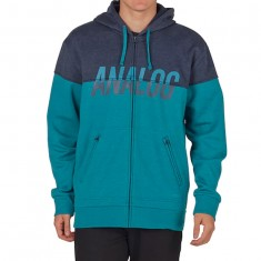 Analog Kincaid Bonded Fleece Hoodie - Eclipse