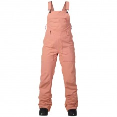 Burton Avalon Bib Womens Snowboard Pants - Dusty Rose Wash