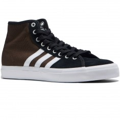 Adidas Matchcourt High Rx Shoes - Black/White/Brown