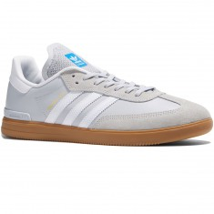 Adidas Samba ADV Shoes - Light Grey/White/Bluebird