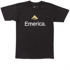 Emerica Skateboard Logo T-Shirt - Black