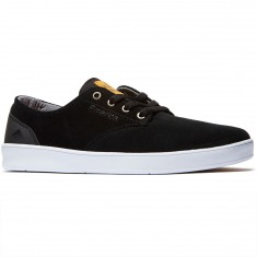 Emerica The Romero Laced Shoes - Black/Black/White