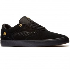 Emerica The Reynolds Low Vulc Shoes - Black/Gold