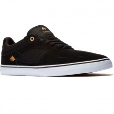 Emerica The Hsu Low Vulc Shoes - Black/White
