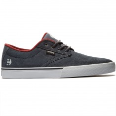 Etnies Jameson Vulc Shoes - Dark Grey/Red
