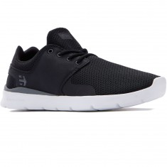 Etnies Scout XT Shoes - Black/White/Grey