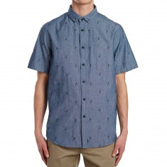 Altamont Warren Short Sleeve Woven Shirt - Blue