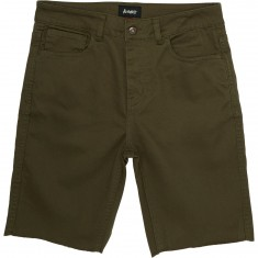 Altamont A/979 5 Pocket Shorts - Olive
