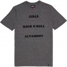 Altamont Girls Invented T-Shirt - Grey/Heather