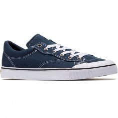 Emerica Indicator Canvas Low Shoes - Navy/White