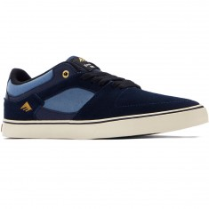 Emerica The Hsu Low Vulc Shoes - Navy/Blue