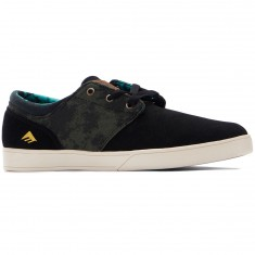 Emerica The Figueroa x Harsh Toke Shoes - Black/Green