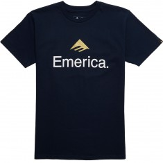 Emerica Skateboarding Logo T-Shirt - Navy