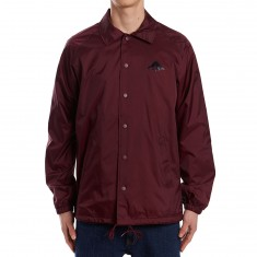 Emerica Triangle Coaches Jacket - Maroon