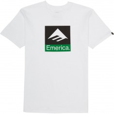Emerica Combo T-Shirt - White/Black