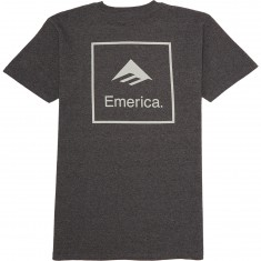 Emerica Squared T-Shirt - Charcoal/Heather