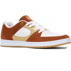 eS Accel Slim Shoes - Brown/Tan/White